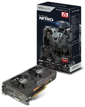 Видеокарта SAPPHIRE AMD Radeon R9380 , 11242-07-20G NITRO R9380DUAL-X OC (UEFI), 4Гб, GDDR5, OC, Ret
