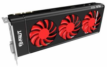 Видеокарта PALIT nVidia GeForce GTX 980 , PA-GTX980TRIO 4G, 4Гб, GDDR5, Ret [ne5×980014g2-2042f]