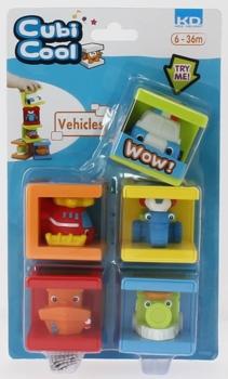 Развивающая игрушка 1TOY Kidz Delight транспорт (от 6 месяцев до 3 лет)