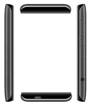 Смартфон TEXET X-mini 2TM-3500, черный