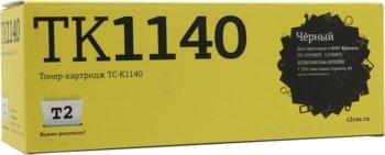 Картридж T2TC-K1140, TK-1140, черный