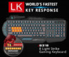 Клавиатура A4 Bloody B318,  USB, c подставкой для запястий, черный вид 17