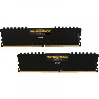 Модуль памяти CORSAIR Vengeance LPX CMK16GX4M2B3200C16DDR4— 2x 8Гб 3200, DIMM, Ret