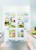 Встраиваемый холодильник LIEBHERR SBS 66I3 (SICN 3356 + ICBN 3366) белый вид 16