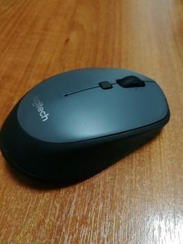 Мышь LOGITECH M335, оптическая, беспроводная, USB, черный [910-004438]