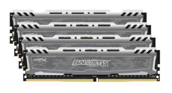 Модуль памяти CRUCIAL Ballistix Sport LTBLS4C8G4D240FSB DDR4— 4x 8Гб 2400, DIMM, Ret