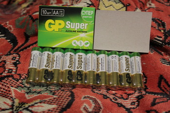 AA Батарейка GP Super Alkaline 15A LR6, 10 шт.