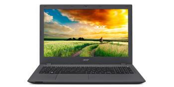 Ноутбук ACER Aspire E5-573-P5MF, 15.6, Intel Pentium 3825U 1.9ГГц, 4Гб, 500Гб, Intel HDGraphics , DVD-RW, Linux, NX.MVHER.013, черный/серый