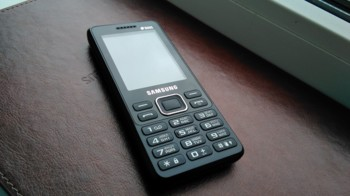 Мобильный телефон SAMSUNG SM-B350E Duos, черный