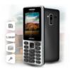 Мобильный телефон GINZZU M104 DUAL  серебристый вид 12