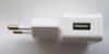 Сетевое зарядное устройство BURO TJ-159w,  USB,  2.1A,  белый вид 6