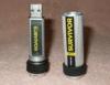 Флешка USB CORSAIR Survivor 16Гб, USB3.0, серебристый и черный [cmfsv3b-16gb] вид 2