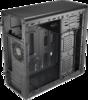 Корпус Aerocool Qs-183 IRU черный без БП mATX 2x120mm 2xUSB3.0 audio вид 1