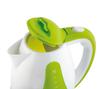 Чайник электрический SCARLETT SC-EK18P30, 1700Вт, белый и зеленый вид 4