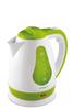 Чайник электрический SCARLETT SC-EK18P30, 1700Вт, белый и зеленый вид 3