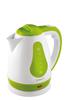 Чайник электрический SCARLETT SC-EK18P30, 1700Вт, белый и зеленый вид 2