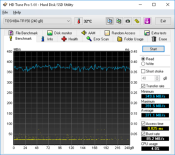 SSD накопитель OCZ Trion 150TRN150-25SAT3-240G 240Гб, 2.5, SATA III