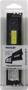 Модуль памяти PATRIOT PSD48G24002DDR4— 8Гб 2400, DIMM, Ret