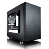 Корпус miniITX FRACTAL DESIGN Define Nano S Window, Mini-Tower, без БП,  черный вид 29