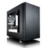 Корпус miniITX FRACTAL DESIGN Define Nano S Window, Mini-Tower, без БП,  черный вид 32