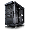 Корпус miniITX FRACTAL DESIGN Define Nano S Window, Mini-Tower, без БП,  черный вид 30