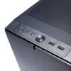 Корпус miniITX FRACTAL DESIGN Define Nano S Window, Mini-Tower, без БП,  черный вид 28