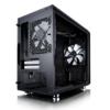 Корпус miniITX FRACTAL DESIGN Define Nano S Window, Mini-Tower, без БП,  черный вид 24