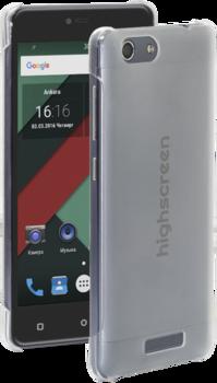 Смартфон HIGHSCREEN Power Rage, черный