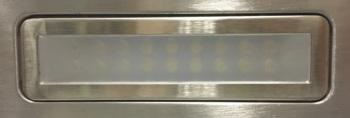 Вытяжка каминная Shindo Arktur 60B/BG 3ETC нержавеющая сталь/черное стекло управление: сенсорное (1