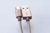 Кабель DEPPA Alum,  1.2м, золотистый,  USB -  microUSB [72191] вид 7