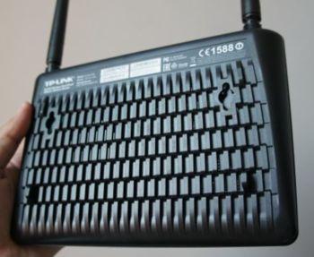 Беспроводной роутер TP-LINK Archer D20, ADSL2+, черный