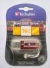 Флешка USB VERBATIM Mini Cassette Edition 16Гб, USB2.0, красный и рисунок [49398] вид 4
