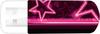 Флешка USB VERBATIM Mini Neon Edition 32Гб, USB2.0, розовый и рисунок [49390] вид 3