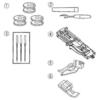 Швейная машина JANOME 1547 белый вид 14