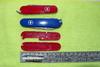 Набор накладок для перочинных ножей Victorinox (C.3600.3+C.3600.4) красный вид 2