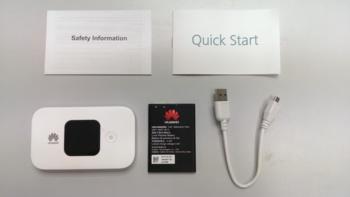 Модем HUAWEI Е5577Cs-3212G/3G/4G, внешний, белый [51071jpg]