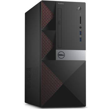Компьютер DELL Vostro 3650, Intel Core i56400, DDR3L 4Гб, 1000Гб, AMD Radeon R9360— 2048 Мб, DVD-RW, CR, Windows 10Home, черный [3650-8698]