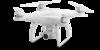 Квадрокоптер DJI Phantom 4, с камерой, белый вид 5