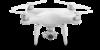Квадрокоптер DJI Phantom 4, с камерой, белый вид 4
