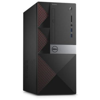 Компьютер DELL Vostro 3650, Intel Core i56400, DDR34Гб, 1000Гб, AMD Radeon R9360— 2048 Мб, DVD-RW, CR, Linux, черный [3650-0328]