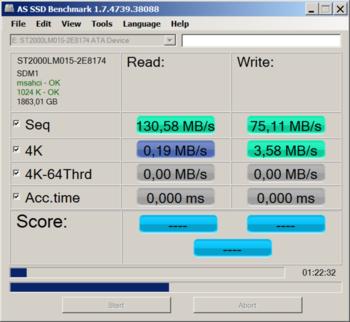 Жесткий диск SEAGATE Barracuda ST2000LM015, 2Тб, HDD, SATA III, 2.5