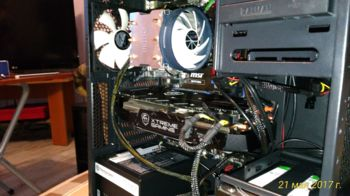 Видеокарта GIGABYTE nVidia GeForce GTX 1070 , GV-N1070XTREME-8GD, 8Гб, GDDR5, OC, Ret
