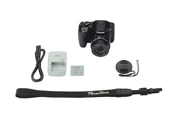 Цифровой фотоаппарат CANON PowerShot SX540HS, черный