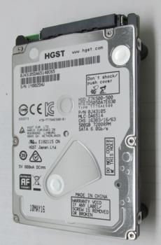 Жесткий диск HGST Travelstar 7K500HTE725050A7E630, 500Гб, HDD, SATA III, 2.5 [0j43105]