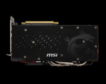 Видеокарта MSI AMD Radeon RX480 , RX480GAMING X 4G, 4Гб, GDDR5, OC, Ret