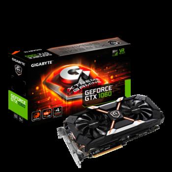 Видеокарта GIGABYTE nVidia GeForce GTX 1060 , GV-N1060XTREME-6GD, 6Гб, GDDR5, OC, Ret