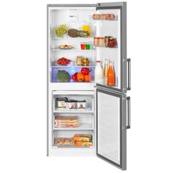 Холодильник BEKO RCNK296E21S, двухкамерный, серебристый