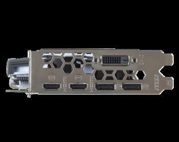 Видеокарта MSI nVidia GeForce GTX 1060 , GeForce GTX 1060ARMOR 6GOCV1, 6Гб, GDDR5, OC, Ret
