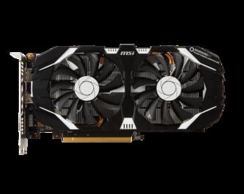 Видеокарта MSI nVidia GeForce GTX 1060 , GeForce GTX 10603GT OC, 3Гб, GDDR5, OC, Ret