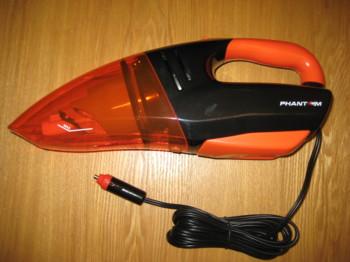 Автомобильный пылесос PHANTOM РН2001 черный
